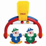 Chrastítko na postýlku - klauni - TOLO