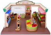 Supermarket - pouze budova + příslušenství