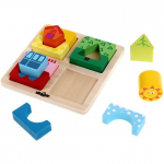 Vkládačka puzzle tvary