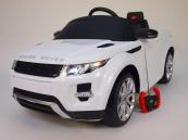 Elektrické auto Range Rover Evoque bílé
