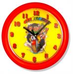 Dětské nástěnné hodiny Čtyřlístek