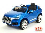 Elektrické auto Audi Q7 NEW s 2,4G DO modrá metalíza