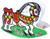 Dřevěné houpací koník