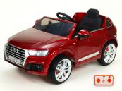 Elektrické auto Audi Q7 NEW s 2,4G DO vínová metalíza