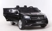 Elektrické auto Mercedes GLS63 4x4 dvoumístné černé lakované