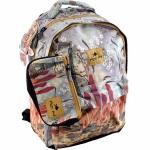 Školní batoh Glossy Bird Paříž