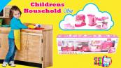 Dětská sestava 4 domácích spotřebičů