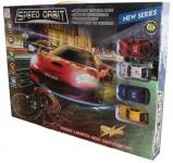 Autodráha Speed Orbit 280 cm 2 dráhy 4 auta