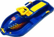 Dětský plastový bob s volantem SNOW BOAT