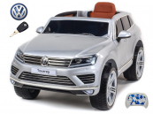 Elektrické auto Volkswagen Touareg s 2.4G DO stříbrné