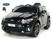 Elektrické auto Ford Focus RS s 2.4G DO černý