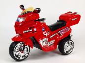 Elektrická motorka Viper NEW 6V červená