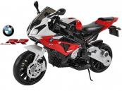 Elektrická motorka BMW S1000 RR, licence, bike 12V-červená