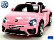 Elektrické auto VW Beetle Dune - Lakovaná růžová