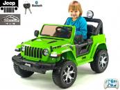 Elektrické auto džíp Jeep Wrangler Rubicon