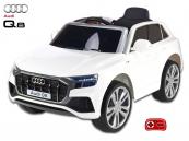 Elektrické auto Audi Q8 s 2,4G DO, Bílé