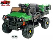 Elektrické auto Auto farmářské zelené