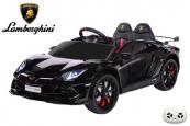 Elektrické auto Lamborghini Aventador s 2,4G, lakované černé