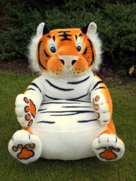 Plyšové křesílko Tygr oranžový