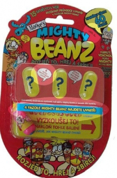 Mighty Beanz - Fazole 4ks
