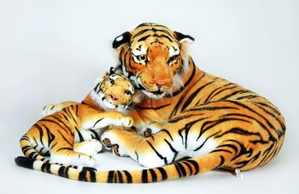 Plyšová tygřice s mládětem6.jpg