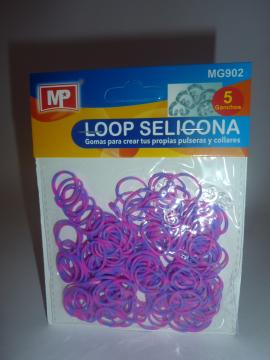 LOOP SELICONA - fialovorůžová 902