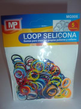 LOOP SELICONA - mix pastelové 906
