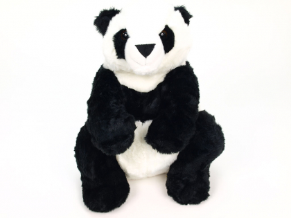 Plyšová panda sedící.jpg