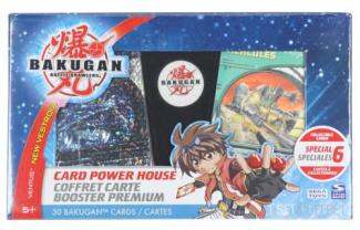 Bakugan - Pouzdro + 30 kartiček