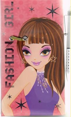 Fashion Girl - Deník s perem