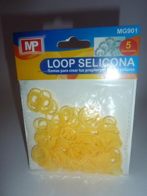 LOOP SELICONA - oranžová 901 svítí ve tmě!