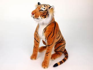Plyšový tygr oranžový sedící.jpg