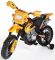 Elektrická motorka CROSSKA - žlutá