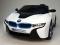 Elektrické auto BMW I8 Concept s 2,4G DO - bílé