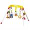 Hrazdička plastová s hračkami klaun