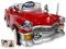 Elektrické auto retro Kuba s DO červené